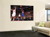 New York Knicks v Los Angeles Clippers: Toney Douglass and Randy Foye Poster by Noah Graham