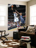 Charlotte Bobcats v New Orleans Hornets: David West and Boris Diaw Poster by Layne Murdoch
