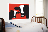 Red Cows Art by  Avalisa