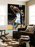 San Antonio Spurs v New Orleans Hornets: Emeka Okafor and Tim Duncan Posters by Chris Graythen