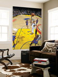 New York Knicks v Golden State Warriors: Monta Ellis and Ronny Turiaf Prints by Rocky Widner