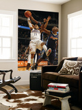Denver Nuggets v Charlotte Bobcats: D.J. Augustin and Nene Prints by Kent Smith