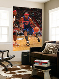 Detroit Pistons v Miami Heat: Richard Hamilton and LeBron James Prints by Victor Baldizon
