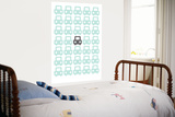 Sea Green Parking Lot Print by  Avalisa