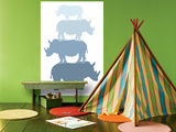 Blue Rhino Prints by  Avalisa