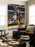 Miami Heat v Orlando Magic: Brandon Bass and Zydrunas Ilgauskas Prints by Mike Ehrmann