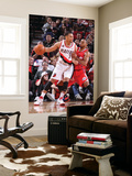 Los Angeles Clippers v Portland Trail Blazers: Eric Gordon and Brandon Roy Prints by Sam Forencich