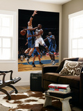 Orlando Magic v Washington Wizards: Gilbert Arenas and Marcin Gortat Prints by Ned Dishman