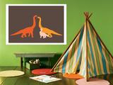 Orange Longneck Posters par  Avalisa