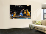 Oklahoma City Thunder v New Orleans Hornets: David West and Nick Collison Art by Layne Murdoch