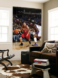 New Jersey Nets v Sacramento Kings: Jordan Farmar and Donte Greene Prints by Don Smith
