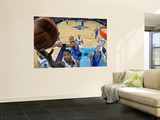 Dallas Mavericks v New Orleans Hornets: Willie Green and Shawn Marion Print by Layne Murdoch