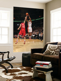 Philadelphia 76ers v Toronto Raptors: DeMar DeRozan and Evan Turner Prints by Ron Turenne