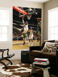 Boston Celtics v Charlotte Bobcats: Gerald Wallace Prints by Kent Smith