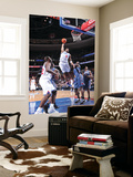 Charlotte Bobcats v Philadelphia 76ers: Andre Iguodala and Kwame Brown Poster by David Dow