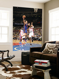 New York Knicks v Detroit Pistons: Danilo Gallinari and Tracy McGrady Prints by Allen Einstein