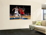 Philadelphia 76ers v Washington Wizards: Thaddeus Young and Trevor Booker Prints by Ned Dishman