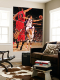 Chicago Bulls v Phoenix Suns: Steve Nash and Joakim Noah Poster by Barry Gossage