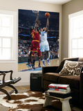 Cleveland Cavaliers v New Orleans Hornets: David West and J.J. Hickson Prints by Layne Murdoch