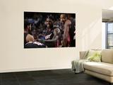 Miami Heat v Dallas Mavericks: LeBron James Art by Glenn James