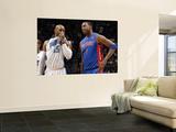 Detroit Pistons v Orlando Magic: Vince Carter and Tracy McGrady Prints by Fernando Medina