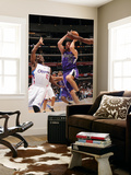 Sacramento Kings v Los Angeles Clippers: Beno Udrih and Willie Warren Print by Noah Graham