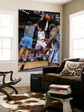 New Orleans Hornets v Sacramento Kings: Tyreke Evans and David West Prints by Rocky Widner