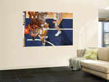 Cleveland Cavaliers v Indiana Pacers: Antawn Jamison and Brandon Rush Prints by Ron Hoskins