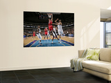 Chicago Bulls v Dallas Mavericks: Taj Gibson, Dirk Nowitzki and Caron Butler Art by Danny Bollinger