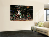 Boston Celtics v Cleveland Cavaliers: Mo Williams and Glen Davis Posters by David Liam Kyle
