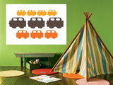 Orange Cars Posters by  Avalisa