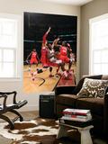 Philadelphia 76ers v Toronto Raptors: Amir Johnson and Andres Nocioni Posters by Ron Turenne