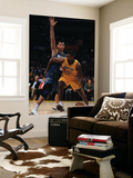 Washington Wizards v Los Angeles Lakers: Ron Artest and Yi Jianlian Poster by  Jeff