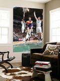 Sacramento Kings v Utah Jazz: Beno Udrih, C.J. Miles and Kyrylo Fesenko Posters by Melissa Majchrzak