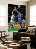 Oklahoma City Thunder v Boston Celtics: Rajon Rondo and D.J. White Posters by Brian Babineau