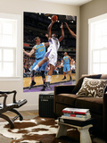 New Orleans Hornets v Sacramento Kings: DeMarcus Cousins and Jason Smith Art by Rocky Widner