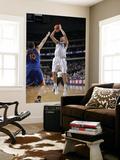 Golden State Warriors v Dallas Mavericks: Dirk Nowitzki and David Lee Posters by Glenn James