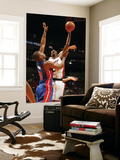 Detroit Pistons v Miami Heat: Chris Bosh and Greg Monroe Posters by Issac Baldizon