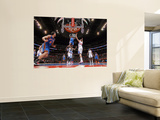 New York Knicks v Los Angeles Clippers: Amar'e Stoudemire and Blake Griffin Posters by Noah Graham