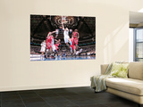 Houston Rockets v Dallas Mavericks: Jason Kidd, Kyle Lowry and Brad Miller Prints by Glenn James