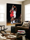 Philadelphia 76ers v Washington Wizards: John Wall and Thaddeus Young Posters by Ned Dishman