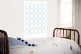 Sea Green Circles Prints by  Avalisa