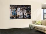 New Orleans Hornets v Dallas Mavericks: Dirk Nowitzki and Jason Terry Art by Danny Bollinger