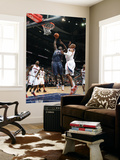 Charlotte Bobcats v Atlanta Hawks: Kwame Brown and Maurice Evans Art by Scott Cunningham