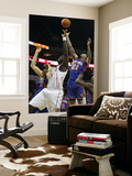 New York Knicks v Charlotte Bobcats: Wilson Chandler and Kwame Brown Posters by Streeter Lecka