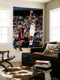 Miami Heat v Washington Wizards: Josh Howard and LeBron James Prints by Greg Fiume