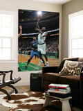 Washington Wizards v Boston Celtics: Kevin Garnett and JaVale McGee Prints by Brian Babineau
