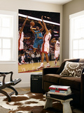 New Orleans Hornets v Miami Heat: Jarrett Jack and Juwan Howard Print by  Mike