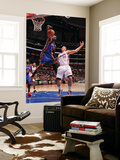 New York Knicks v Los Angeles Clippers: Ronny Turiaf and Blake Griffin Art by Noah Graham