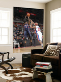 Atlanta Hawks v Detroit Pistons: Josh Smith and Charlie Villanueva Prints by Allen Einstein